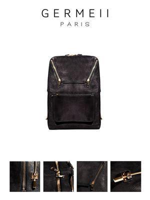 Le sac Germeii est disponible dans la boutique Kabuki à Paris.
