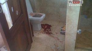 La photo de la scène de crime diffusée par Sky News.