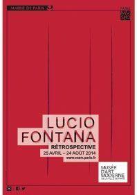 « Lucio Fontana. Rétrospective », jusqu'au 24 août, musée d'Art moderne de la Ville de Paris.