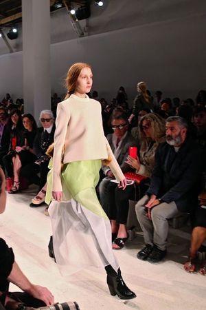 Le modèle de Annelie Schubert, gagnante du Grand Prix du jury Première vision.