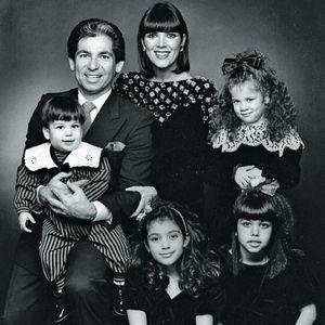 Le clan Kardashian en 1988.