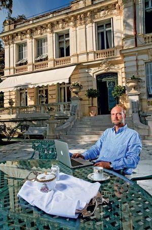 En 2009, à Nice.