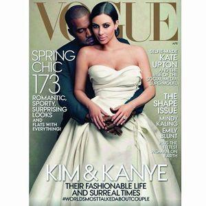 La Une de Vogue US en avril 2014.