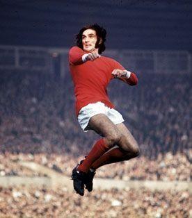 George Best en 1970, à Manchester.