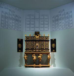 Cabinet, Paris, vers 1675.
