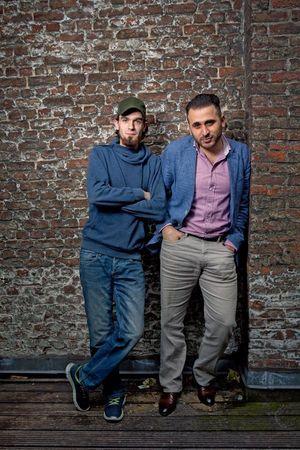 Avec le chercheur Montasser Alde'emeh, islamologue qui a ouvert une structure à Malines, en Belgique, pour les jeunes radicalisés.