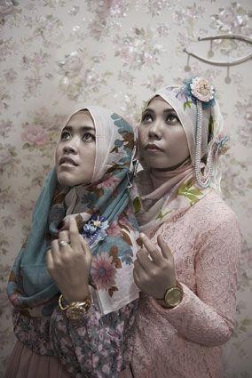 «Hijab», Bandung, Indonésie, 2013.