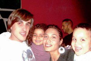 Zaho avec sa famille.