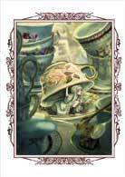 """""""Alice aux pays des merveilles"""", de Lewis Carroll, illustré par Benjamin Lacombe, éd. Soleil, 296 pages, 29,95 euros."""