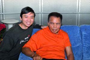 Avec Mohammed Ali