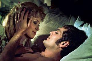 "Avec Catherine Deneuve, dans ""Mayerling"", de Terence Young, en 1968."