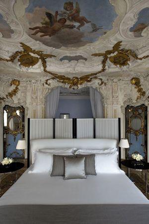 Suite nuptiale de George et Amal: 4 000 euros la nuit, amanresorts.com