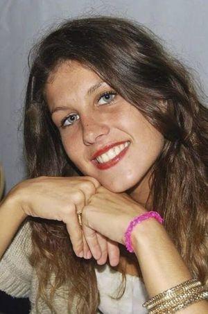 Sa soeur cadette, Célie, morte en janvier dernier.