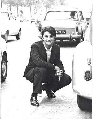 Hervé Vilard, à 15 ans.