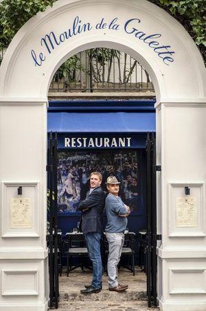 Serait-ce les nouveaux épisodes d' « Amicalement Vôtre » ? Cédric Barbier et Nicolas Tourneville poussent la porte du Moulin.