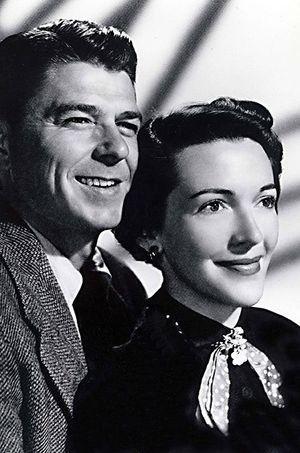 Ronald et Nancy en 1950.