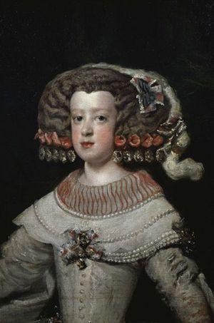 Marie-Thérèse d'Autriche, peinte par Diego Velazquez