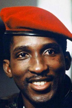 Thomas Sankara (1949-1987).