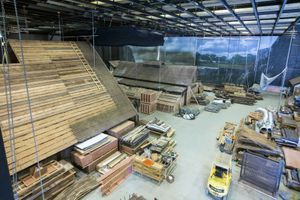 Le plateau des «Vikings», dans les studios Ashford.