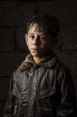 Mohammad, 10 ans, originaire d'Idlib, en Syrie, est scolarisé à la Torches of Freedom Syrian School.