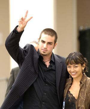 Wade Robson, en 2005, après avoir témoigné en faveur de Michael Jackson lors de son procès.