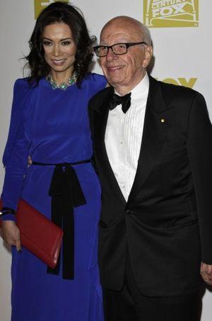 Wendi Deng et Rupert Murdoch.