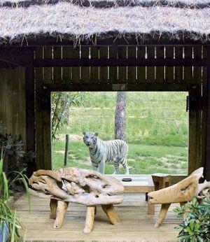 Le zoo de La Flèche, dans la Sarthe,