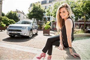 Mitsubishi Outlander PHEV & Claire Nevers: branchées nature