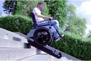 """Scalevo"", le fauteuil roulant du futur"
