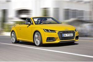 Audi TT roadster : de beaux jours devant lui