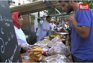 """Le premier """"Food Market"""" a régalé Paris"""