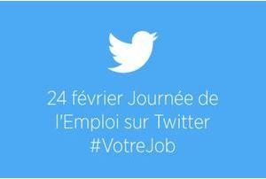 Journée de l'emploi mardi sur Twitter