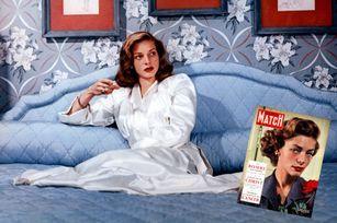 Quand Lauren Bacall se confiait à Match