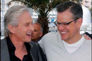 Michael Douglas et Matt Damon