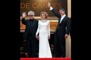 Pedro Almodovar, Marisa Paredes et Antonio Banderas