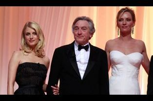 Mélanie Laurent, Uma Thurman et Robert de Niro