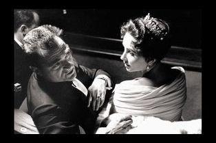 Michael Todd et Elizabeth Taylor (1957)