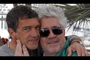 Antonio Banderas et Pedro Almodovar