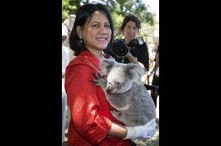 Iriana Joko Widodo, épouse du président indoniésien Joko Widodo