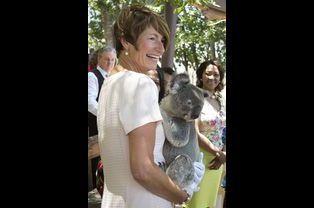 Margie Abbott, épouse de Tony Abbott