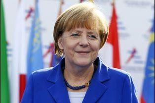 N°5: la chancelière allemande Angela Merkel