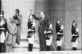 21 mai 1981 : investiture de François Mitterrand
