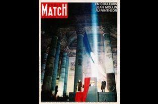La couverture de Match après la cérémonie dédiée à Jean Moulin