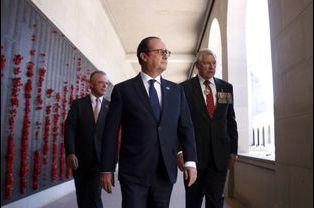 François Hollande en Australie