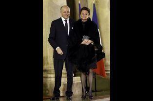 Laurent Fabius et Marie-France Marchand-Baylet