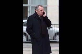 François Bayrou aux obsèques de Jacques Barrot à Paris