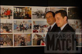 Les deux rivaux découvrent les photos des Français interrogés par Match
