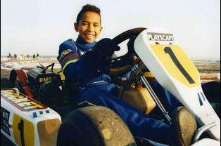 Les débuts : Lewis, prodige du kart en 1995
