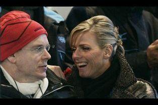 Albert et Charlene aux JO de Turin en 2006