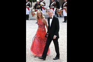 Bernard Arnault et son épouse